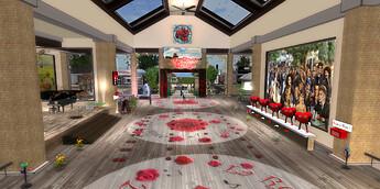 2021-06-25 La Rose rouge, intérieur